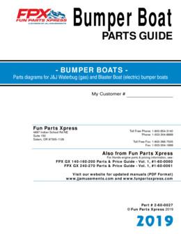 Bumper boat parts guide – 2019